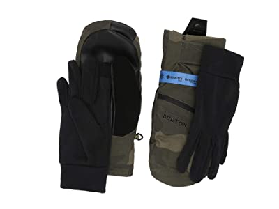 Burton GORE-TEX(r) Under Mitt (Worn Camo) Snowboard Gloves