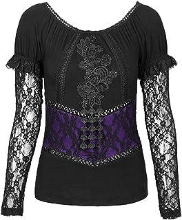 e0ffca20d Amazon.fr : Punk Rave - T-shirts à manches courtes / T-shirts, tops ...