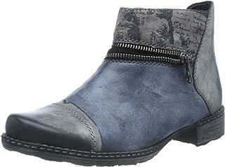 Women Ankle Boots Negro/Ozean/Schwarz/ D4361-14