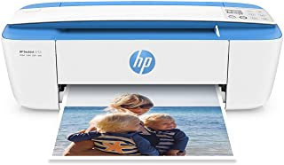 HP DeskJet 3755 Compact All-in-One Wireless Printer, HP Instant Ink & Amazon Dash Replenishment ready - Blue Accent (J9V90A)