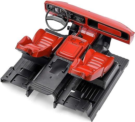 Ecarke GRC Maßstab 1:10 Ford 1979 Bronco Interieur Simulationszentrum Steuerung Interieur Sitzreparatursatz für TRX-4 Ford Bronco Modelle # G161RR...