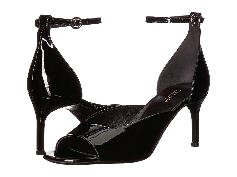 Via Spiga Jennie (Black Patent) Women