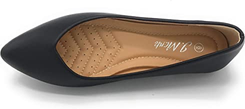 Women's Casual Pointed Toe Flats Comfort Classic Slip On Shoes