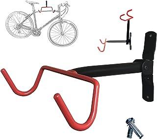 vilobyc Bicycle Rack Garage Wall Mounted Bike Hanger Storage System Vertical Hook for Indoor Shed Easily Hang