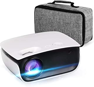 Oecrayy Mini Projector, Video Projector 5500 Lumens Full HD, Native 1028x720P, 200'' Display, Home Theater Portable Movie ...
