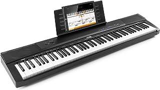 MAX KB6 Clavier électronique pour musicien confirmé, Piano 88 touches, Touches semi-lourdes, Fonction d'enregistrement, 2 ...