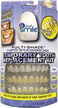 Instant Smile MULTISHADE Patented Temporary Tooth Repair Kit. A Realistic Looking Fix for a Missing or Broken Tooth.