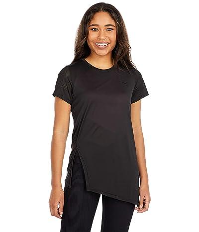 PUMA Studio Lace Short Sleeve Tee (PUMA Black) Women