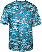 Badger Sportswear mens Digital Tee(4180)-ELECT BLUE DIGI-XL