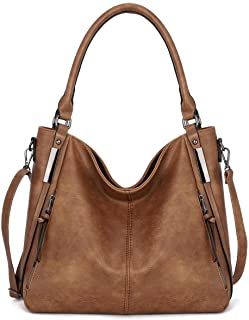 Purses for Women Shoulder Handbag Top Handle Hobo Tote Bags, PU Leather