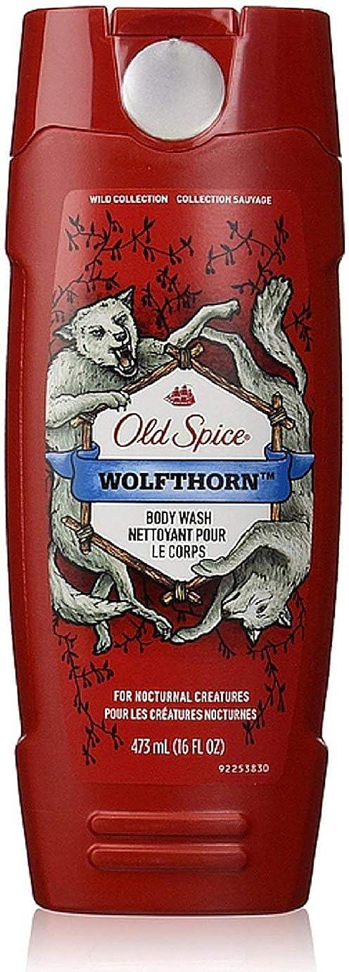 グラス投資する危険なOld Spice ワイルドコレクションボディウォッシュ、Wolfthorn 16オズ(5パック) 5パック