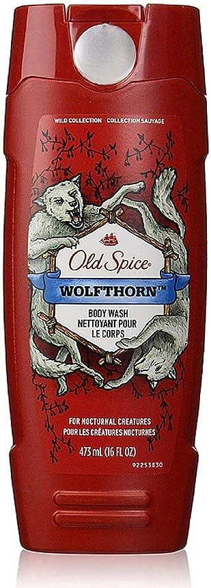 寄託南東淡いOld Spice ワイルドコレクションボディウォッシュ、Wolfthorn 16オズ(5パック) 5パック