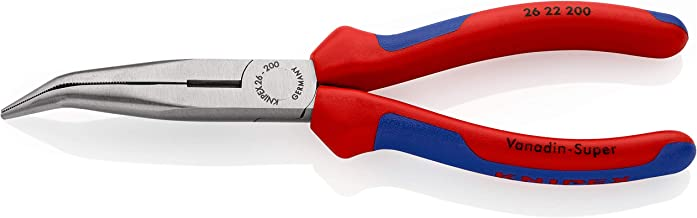KNIPEX Tång med flata, runda käftar och skär (Typ storknäbb) (200 mm) 26 22 200