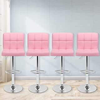 Best pink leather bar stool Reviews
