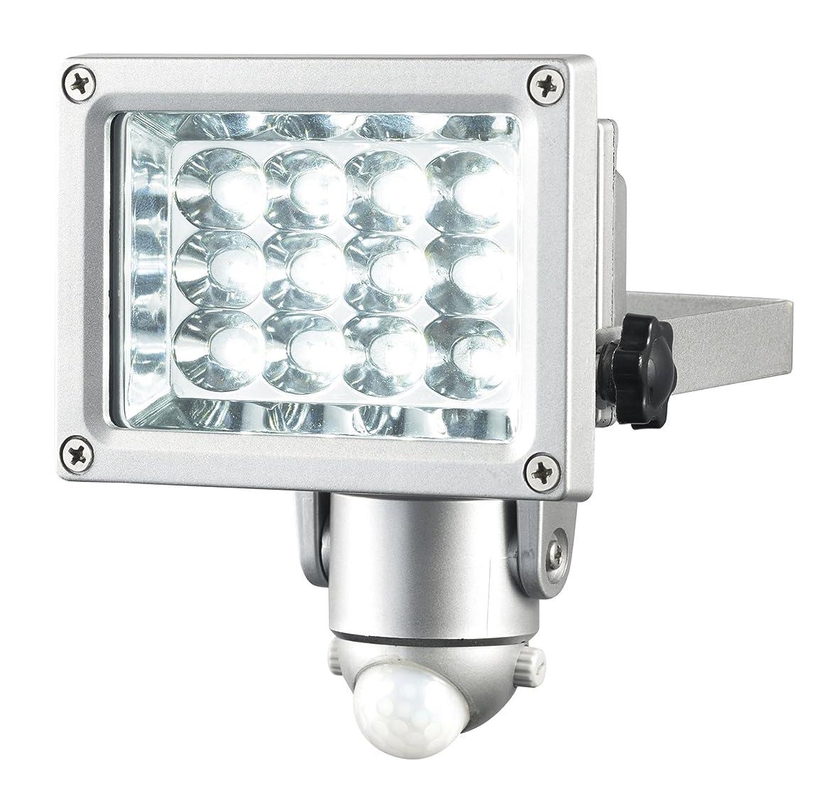 本質的ではないジャベスウィルソンシンプルな高儀 EARTH MAN AC100V式LEDセンサーライト12W SLT-190
