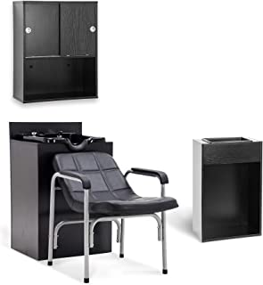 shampoo bowl and cabinet combination