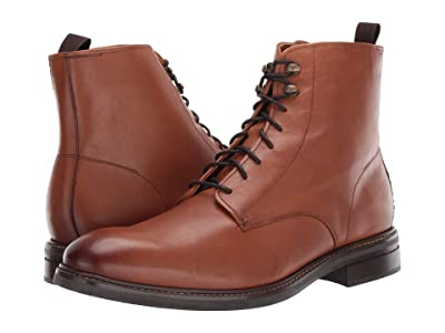 Cole Haan Wagner Grand Plain Toe Boot (Light Brown) Men