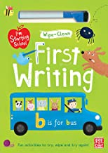 I'm Starting School: First Writing: Wipe-clean book with pen
