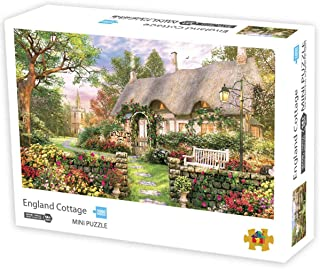 Jigsaw Puzzles 1000 Pieces Puzzles for Adults Micro-Sized Puzzles England Cottage Jigsaw Puzzles