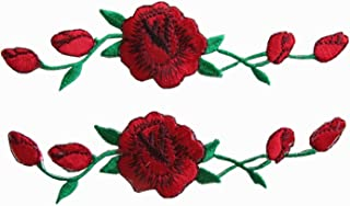 rose patches for shoes