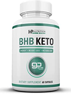 Premium Keto Diet Pills - Use Fat for Max Energy with Ketosis - Boost Focus & Metabolism, Manage Appetite Cravings - Strong goBHB Ketogenic Electrolyte Supplements Capsules Perfect for Women and Men