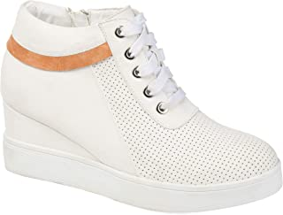 Journee Collection Womens Ayse Sneaker Wedge
