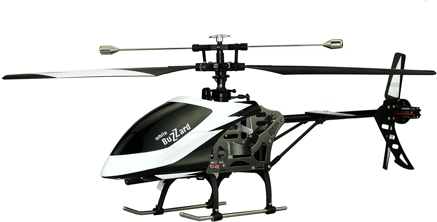 Amewi 25137 - Buzzard 4 Channel Helicopter, 2.4 GHz