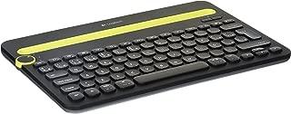 Logitech K480 Teclado QWERTY Inalámbrico, Bluetooth, Color Negro
