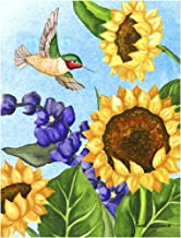 Hummingbird Heaven by Laurie Korsgaden Art Print, 15 x 20 inches