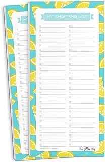 Set de 2 Lista de super para refri magnética, listas de compras con imán, Shopping List magnetic para refrigerador, The Ye...