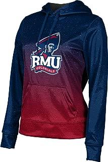 Robert Morris University Women's Pullover Hoodie, School Spirit Sweatshirt (Ombre)