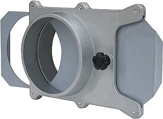 POWERTEC 70227 Aluminum Blast Gate, 6
