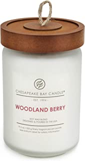 Chesapeake Bay Candle Scented Candle, Woodland Berry, Large Jar