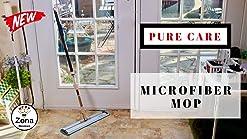 40 cm Atento Micro Fibre Mop-White-Pro Mop