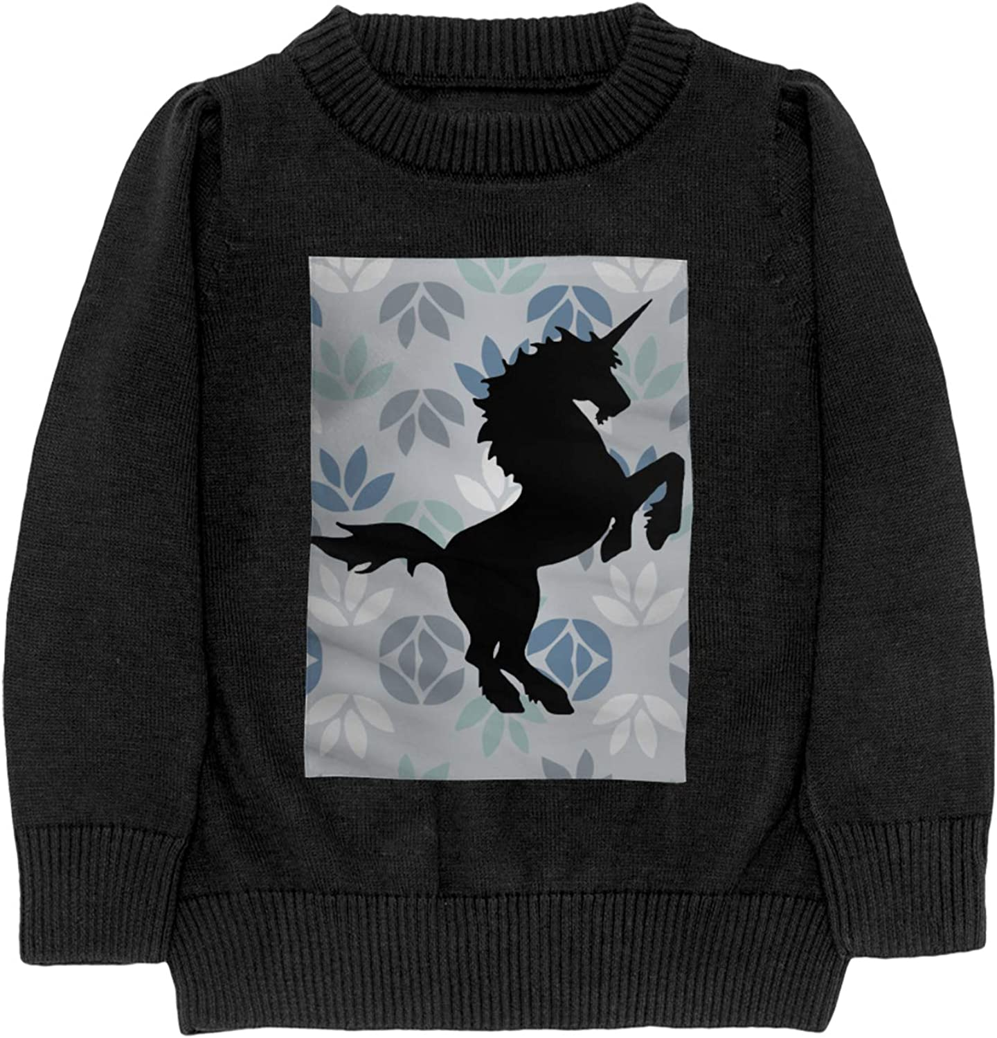Unicorn Horse Boy Sweater Sweatshirt Manufacturer direct delivery Crew Warm Cheap mail order specialty store Neck
