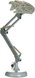 Paladone Millennium Falcon Posable Star Wars Skrivbordslampa, grå