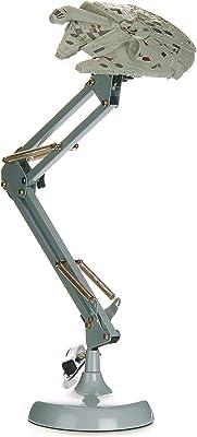 Paladone Millennium Falcon Posable Star Wars Novedad Luz de escritorio | Regalo para todas las edades, Gris