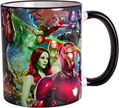 Avengers Cup Infinity War Collage 320ml Marvel Elven Forest Pottery