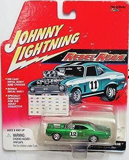 Johnny Lightning Rebel Rods Super Beetnik 1969 Dodge Super Bee (Bonus Decal Sheet)