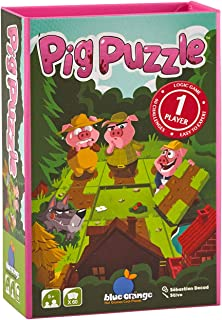 Blue Orange Games Pig Puzzle- Single Player Logic Game. Recommended for Ages 5 to Adult