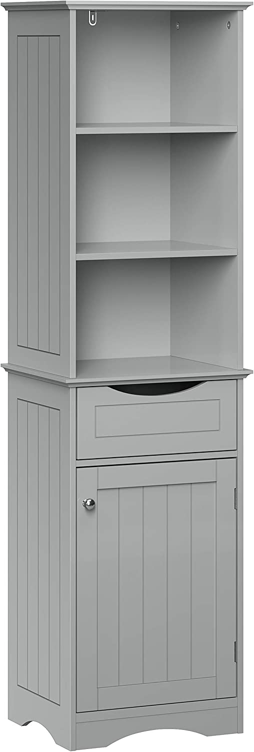 Al sold out. Popular standard RiverRidge Ashland Collection Cabinet Tall Gray