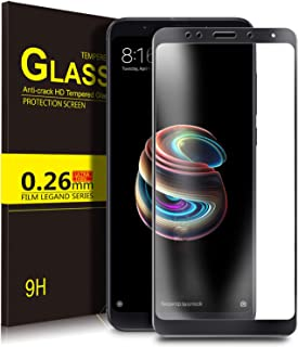 KuGi Premium Tempered Glass Screen Protector for Xiaomi Redmi S2, Black
