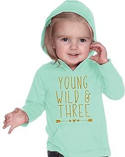 Bump and Beyond Designs Girl Third Birthday Shirt Three Year Old Birthday Girl Outfit 3rd Birthday (3T) Green