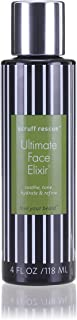 Best After Shave Balm, SCRUFF RESCUE Ultimate Face Elixir, Premium Anti-Aging Light Lotion For Deep Moisture, Soothing Juniper, Oak, Horsetail, Chestnut & Hyaluronic Acid, Woody-Citrus Aroma, 4 fl oz