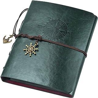 Jinlaili Album Photo Scrapbooking en Cuir DIY, 60 Pages Scrapbooking Livre Fait à La Main Album Craft Paper, Livre Photo S...