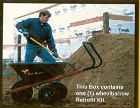 Wil Burro Wheel Barrow Conversion Kit, Recommended by Doyle's Thornless Blackberry, Inc.