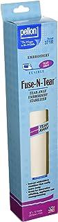 Pellon Fuse-N-Tear Fusible Embroidery Stabiliser, 30cm x 12 Yards