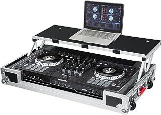 موارد Gator G-TOUR سری DJ کنترل جاده مورد با پلت فرم لپ تاپ کشویی - سفارشی مناسب برای Numark NS7II؛ (G-TOURDSPNS7II)