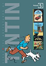 The Adventures of Tintin, Vol. 5: Land of Black Gold / Destination Moon / Explorers on the Moon (3 Volumes in 1)