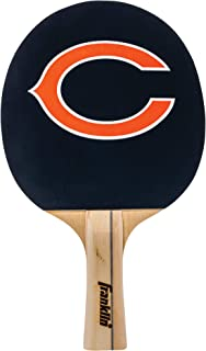 Franklin Sports Atlanta Falcons Team Table Tennis Paddle - Wood Paddle Pips in Rubber Surface with Team Logo - NFL Official Licensed Product